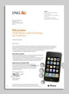 DM reminder ING bank
