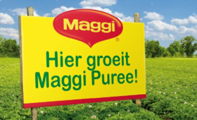 Maggi Puree reclame