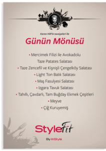 Gezond fitness menu