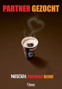 brochure voor fair trade koffie