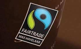 reclamecampagne fair trade koffie