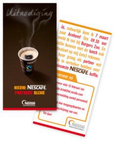 reclame voor fair trade koffie
