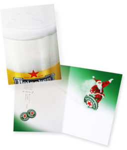 beeldbewerking Heineken kerstman
