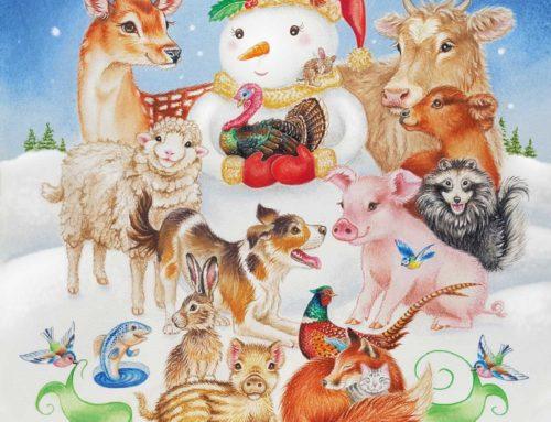 vegan kerst