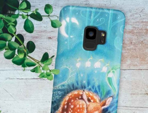 Dream deer – phone case