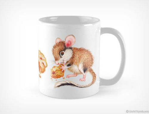 Cookie mouse – mug