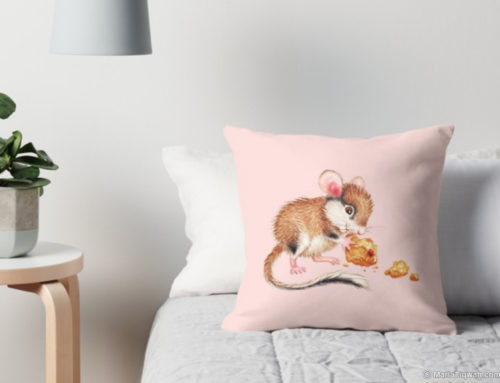 Cookie mouse – pillow